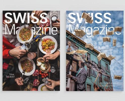 SWISS Onboard Magazin