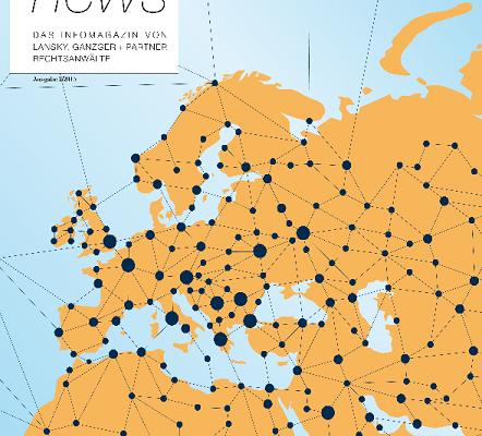 Das Infomagazin der Anwaltskanzlei Lansky, Ganzger + Partner Wien