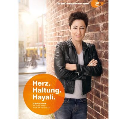 ZDF-Hayali-Printanzeige