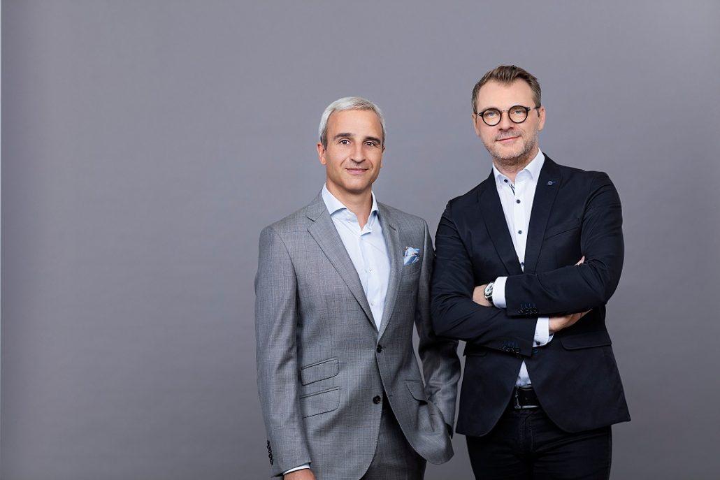 RG Verlag Geschäftsführer Martin Distl und Andreas Stollnberger Credits: REWE International AG / EHM