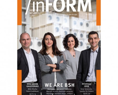 BSH inFORM_Cover