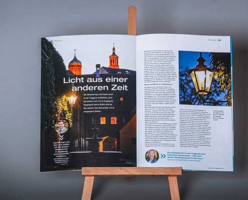 swa magazin, das Kundenmagazin der Stadtwerke Augsburg