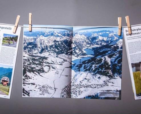 Talblick, das offizielle Gästemagazin des Tourismusverbandes Tannheimer Tal