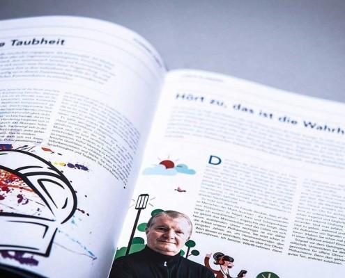 """Kessler Report, das """"ausgezeichnete"""" Kundenmagazin des Druckdienstleisters in der Region Augsburg"""