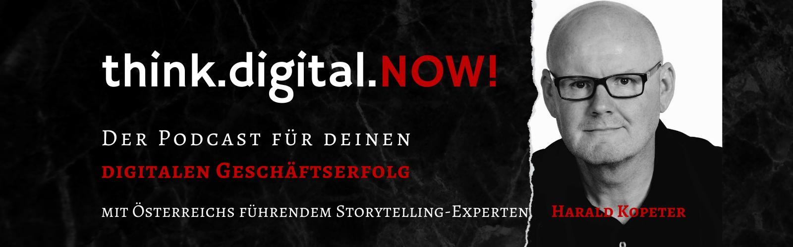 Harald Kopeter startet eigenen Podcast