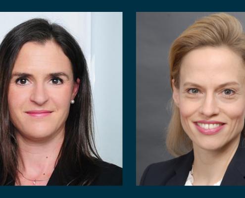 Lisa Jäger und Frauke Becker